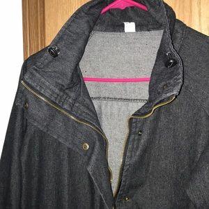 Zaful Jackets & Coats - Zaful Commanding Officer Gooby K S Patrol Denim S